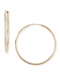 Small Hoop Earrings by Neiman Marcus in Get Hard