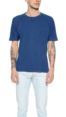 Short Sleeve Thermo T-Shirt by Billy Reid in Sisters