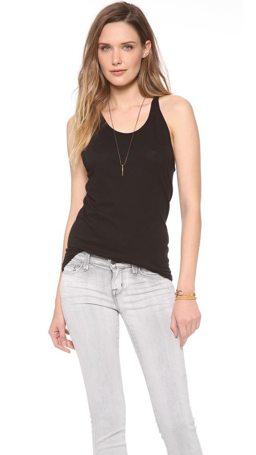 Racer Tank Top by Enza Costa in We're the Millers