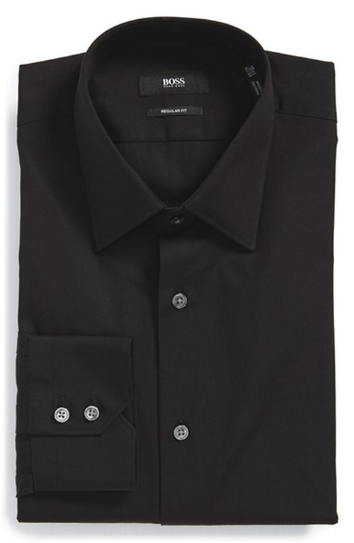 'Gulio' Regular Fit Dress Shirt by Boss in The Last Witch Hunter