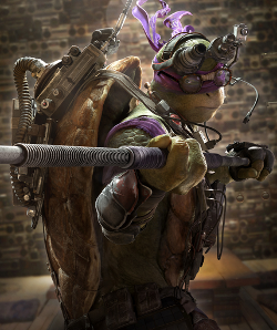 Donatello by I. Javier Ameijeiras (Concept Illustrator) in Teenage Mutant Ninja Turtles (2014)