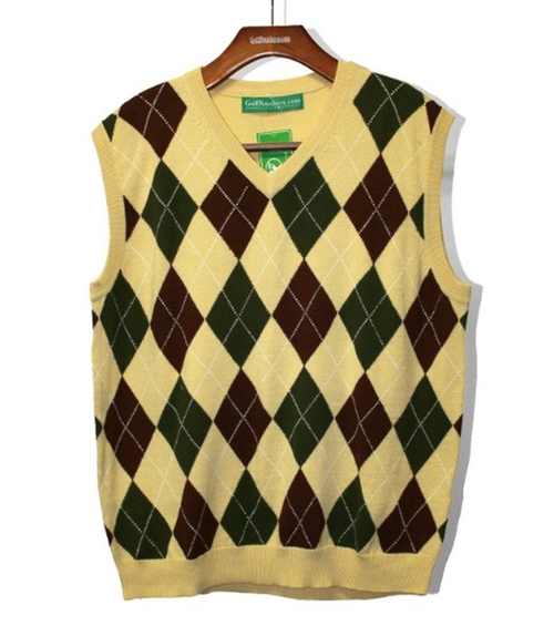 Argyle Sweater Vest by Golf Knickers in The Big Bang Theory