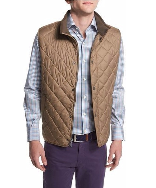 Hudson Quilted Vest by Peter Millar in The Great Indoors - Season 1 Preview