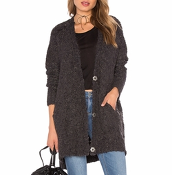 Boucle Cardi Sweater by Free People in The Blacklist