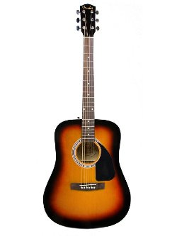 Acoustic Guitar Bundle by Fender in The Secret Life of Walter Mitty