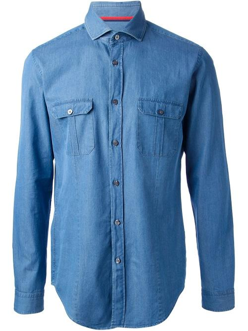Denim Shirt by Hugo Boss in The Other Woman