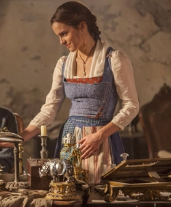 Custom Made Apron Dress by Jacqueline Durran (Costume Designer) in Beauty and the Beast