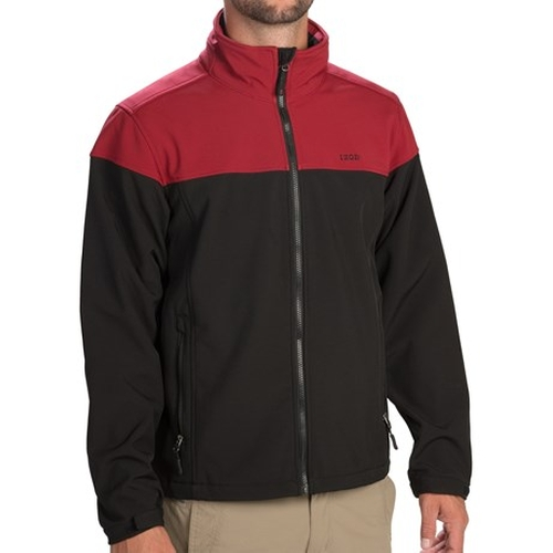 Color-Blocked Soft Shell Jacket by Izod in Eddie The Eagle