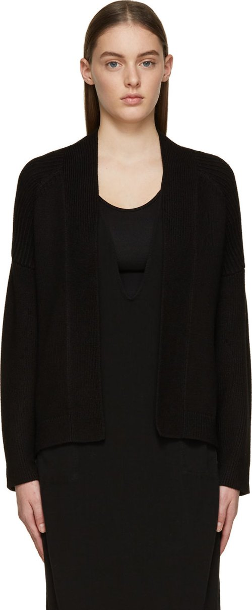 Knit Ribbed Bias Open Cardigan by 3.1 Phillip Lim in That Awkward Moment