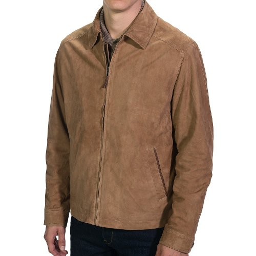 Full Zip Goat Suede Jacket by Golden Bear in The Divergent Series: Insurgent