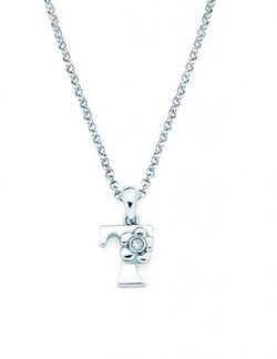 Initial Pendant Necklace by Little Diva Diamonds in High School Musical 3: Senior Year
