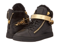 Metallic High Top Sneakers by Giuseppe Zanotti in Keeping Up With The Kardashians
