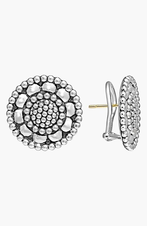 'Voyage' Caviar Stud Earrings by Lagos in The Best of Me