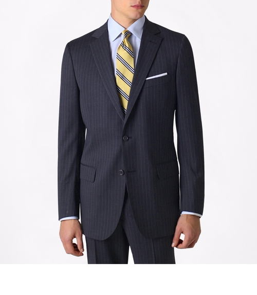Fitzgerald Fit Two-Button 1818 Suit by Brooks Brothers in Billions - Season 1 Episode 7