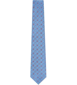 Geometric Print Tie by Brioni in The Good Wife
