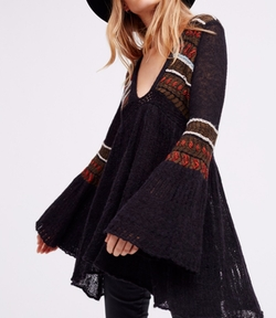 Moroccan Nights Tunic by Free People in The Flash