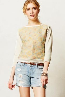Desert Ikat Sweatshirt  by Madchen in Unbreakable Kimmy Schmidt