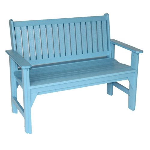 X-Back Eucalyptus Outdoor Bench by Vifah in Crazy, Stupid, Love.