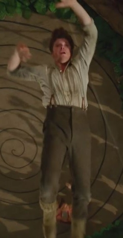 Custom Made Chino Trousers (Hook) by Jacqueline Durran (Costume Designer) in Pan