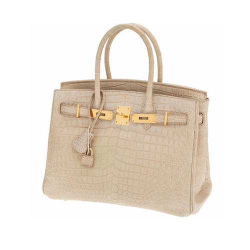 Crocodile Birkin Bag by Hermès in Keeping Up With The Kardashians - Season 12 Episode 1