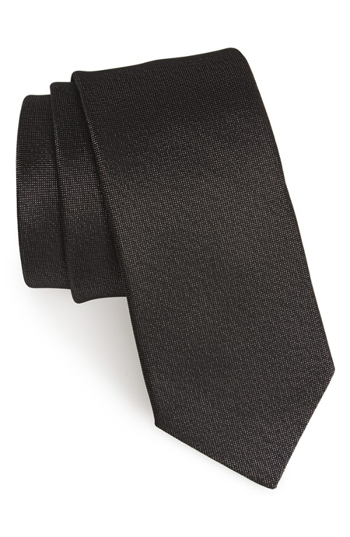 Woven Silk Tie by Yves Saint Laurent in Fight Club