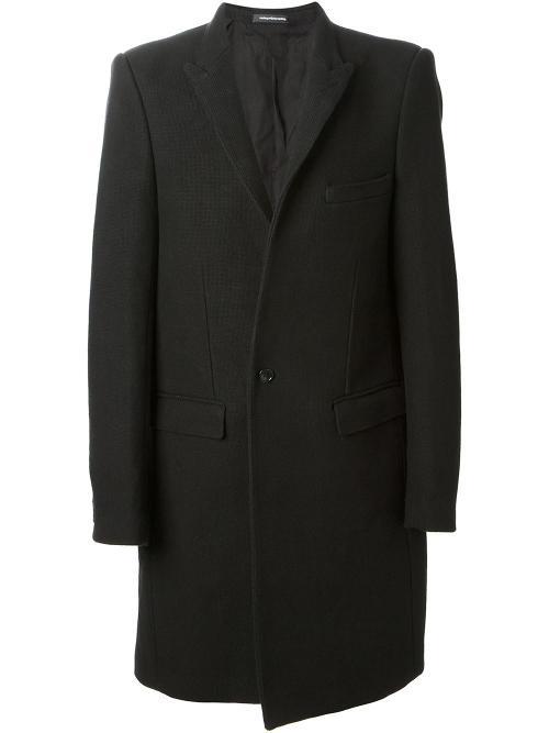 Single Breasted Coat by Nicolas Andreas Taralis in The Dark Knight Rises