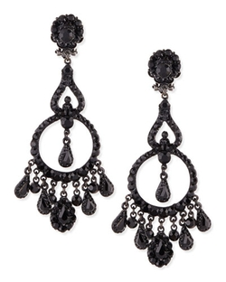Chandelier Clip-On Earrings by Jose & Maria Barrera in Pretty Little Liars