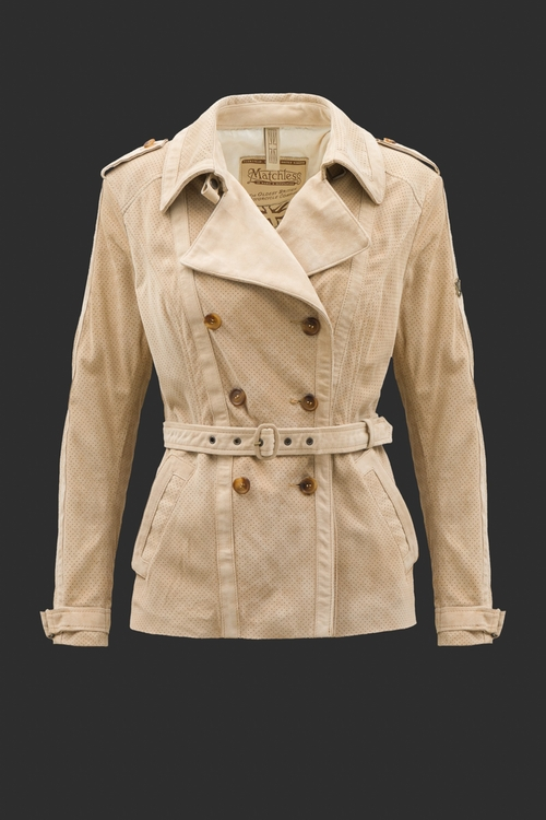 Natasha Suede Jacket by Matchless in Captain America: Civil War