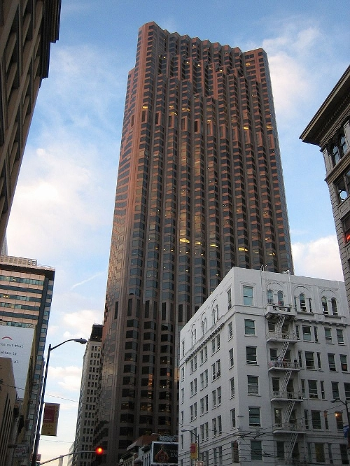 555 California Street Building San Francisco, California in Terminator: Genisys