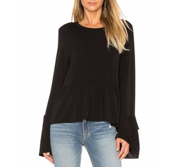 Fenton Flare Sleeve Top by Elizabeth And James in Power