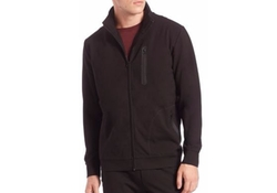 Raglan-Sleeve Full Zip Jacket by Saks Fifth Avenue Collection in Suits
