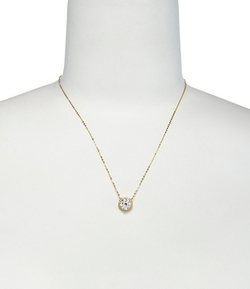 Round CZ Pendant Necklace by Nadri in Alvin and the Chipmunks: The Road Chip