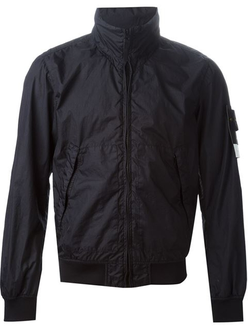 Zipped Windbreaker Jacket by Stone Island in Mr. & Mrs. Smith