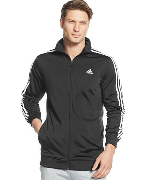 Men's Tricot Full Zip Track Jacket by Adidas in Straight Outta Compton