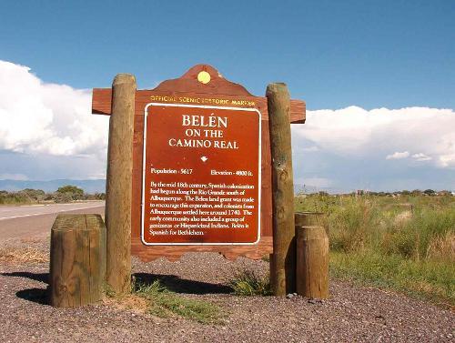 Belen New Mexico, US in Transcendence