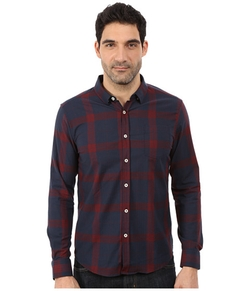Duke Long Sleeve Plaid Shirt by 7 Diamonds in The Flash