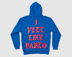 I Feel Like Ye Pablo Hoodie by Yeezy in Keeping Up With The Kardashians