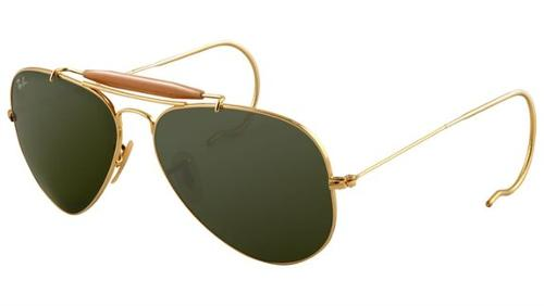 Outdoorsman 3030 Aviator Sunglasses by Ray-Ban in Savages