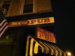 New York City, New York by Mike's Pub (Depicted as Old Abbey Pub) in Run All Night