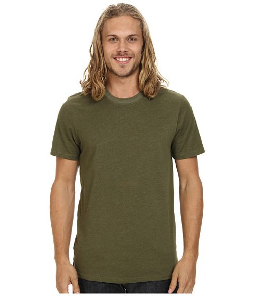 Staple Dri-fit Crew Neck Tee by Hurley in Blackhat