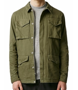 M-65 Field Jacket by Topman in Criminal