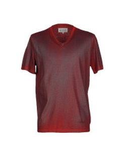 Red T-Shirt by Maison Margiela in Ballers