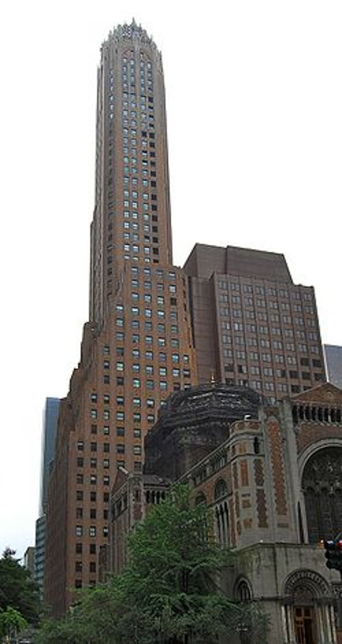 General Electric Building Manhattan, New York in John Wick