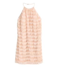 Fringe Dress by H&M in Empire