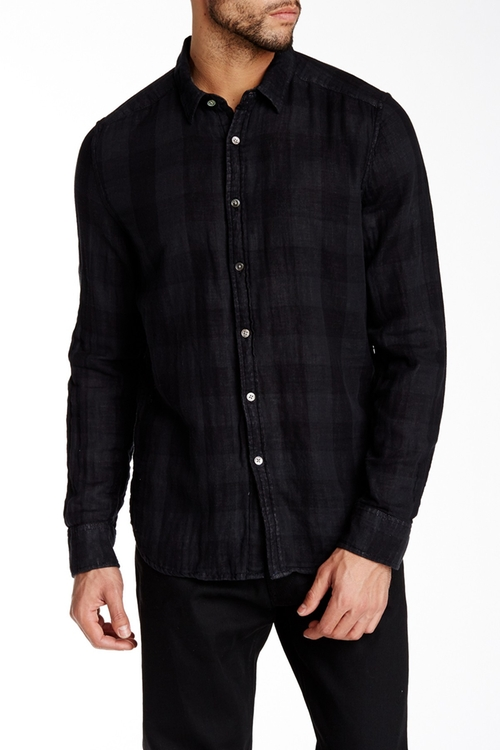 Long Sleeve Plaid Shirt by Gilded Age in Nashville - Season 4 Episode 10