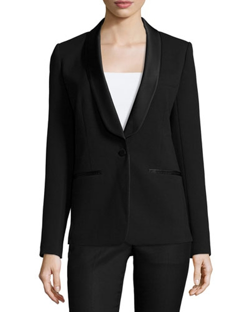 Tuxedo Blazer by Michael Michael Kors in Keeping Up With The Kardashians - Season 11 Episode 5