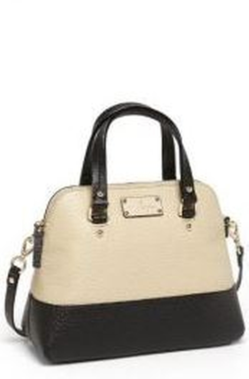 Small Grove Court Maise Leather Satchel Bag by Kate Spade  in The Big Bang Theory