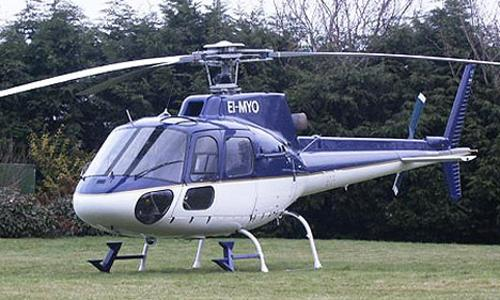 AS350 by Eurocopter in Chronicle