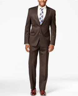 Solid Classic-Fit Suit by Michael Kors in My All American