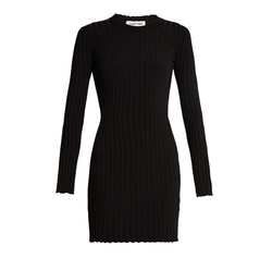 Penny Long Sleeved Ribbed Knit Dress by Elizabeth and James in Billions